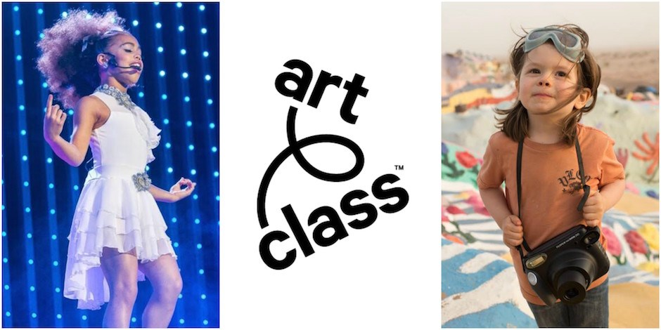 Images of Art Class creators and the Art Class logo