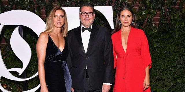 Target executives celebrating the BoF 500 gala