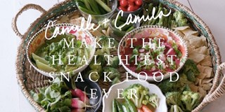 Camille + Camila Make The Healthiest Snack Food Ever