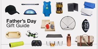 Father's Day gift guide product collage
