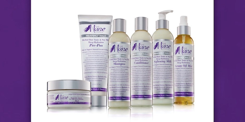 New Heavenly Halo product line from The Mane Choice brand