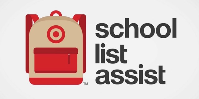School List Assist backpack graphic