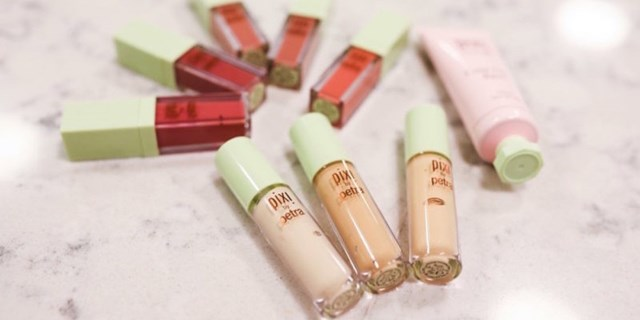 PIXI by Petra concealers and lip gloss