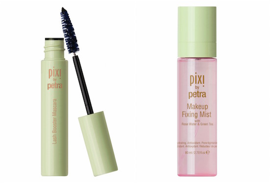 PIXI by Petra Last Booster Mascara and PIXI by Petra Makeup Fixing Mist