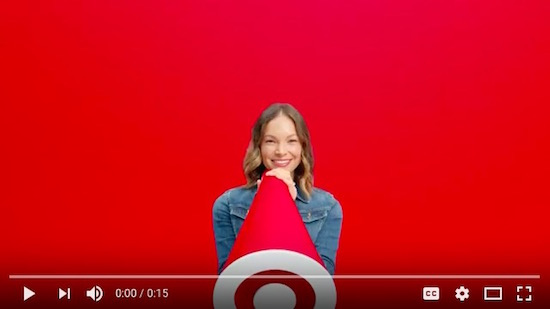 Target Back to School commercial spot