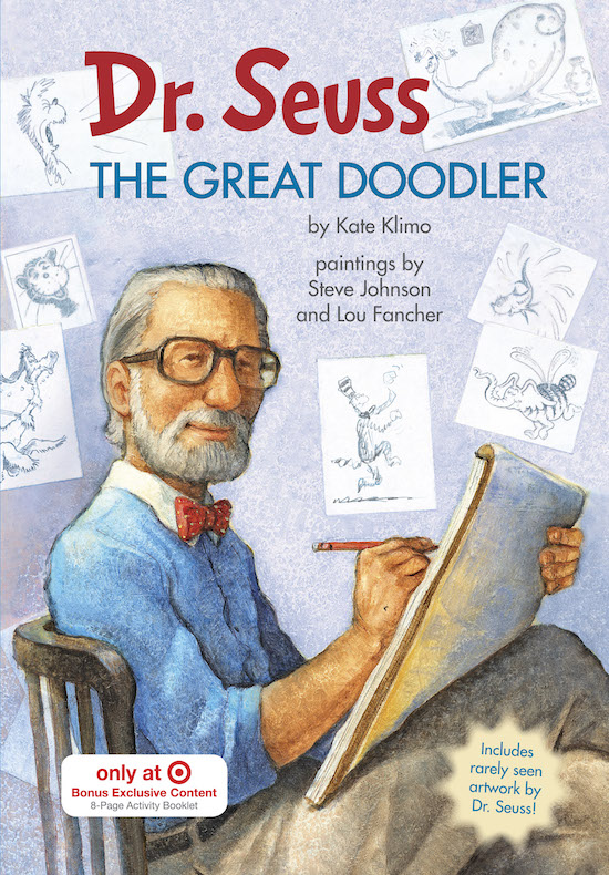 Dr. Seuss The Great Doodler book cover