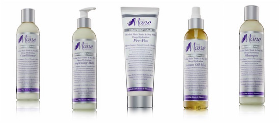 Product collage of different Heavenly Halo products