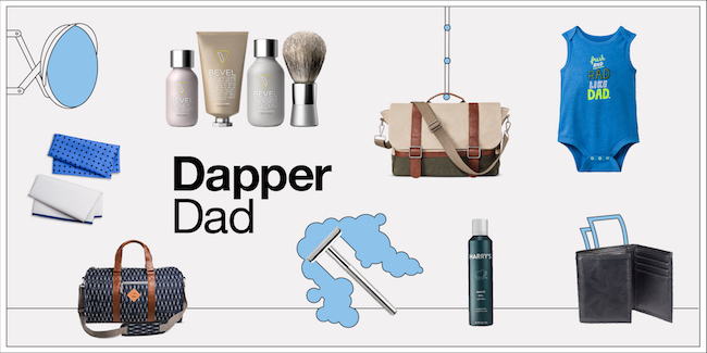 Dapper dad product collage