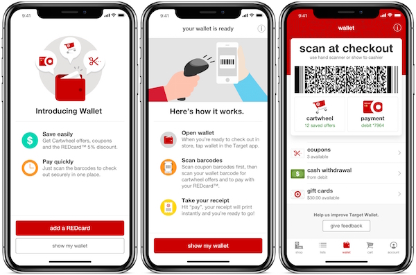 Target debuts its mobile payment system within its app