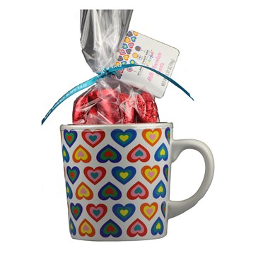 Dylan's Decal Mug with Candy