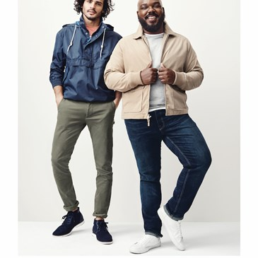 two male models wearing Goodfellow