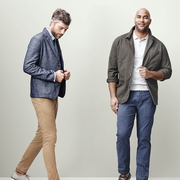 two male models wearing Goodfellow & Co
