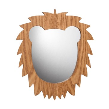 Lion wall mirror