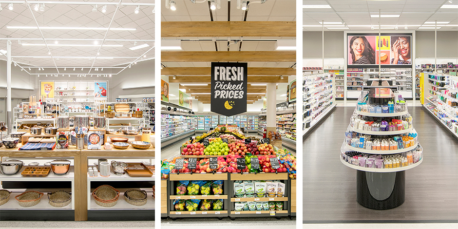 The Home, Food & Beverage and Beauty departments with updated features after their remodels