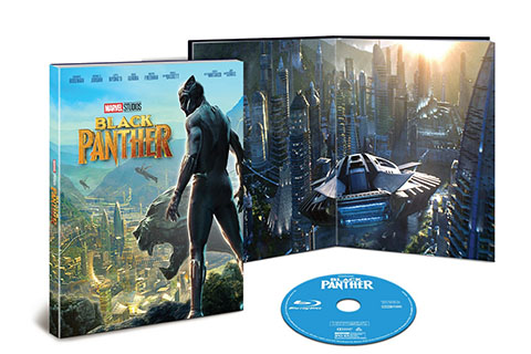 Black Panther DVD and exclusive book