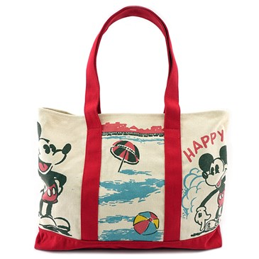 Tote with Mickey print