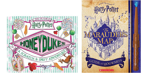 Honyedukes and The Marauder's Map book covers