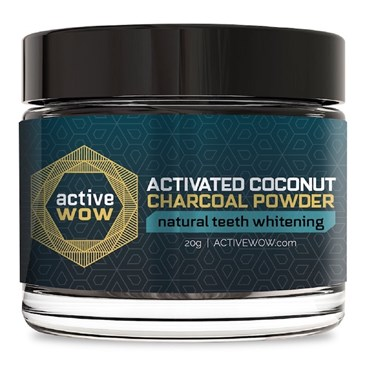Active Wow Coconut Charcoal Powder