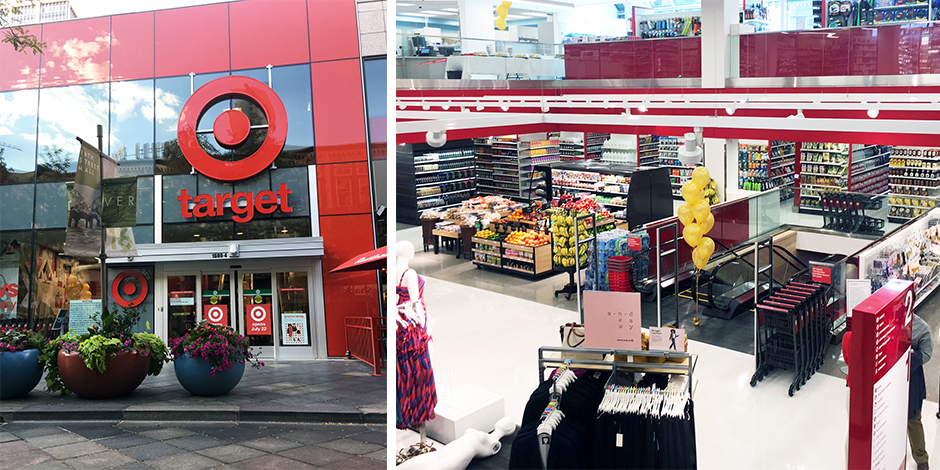 The exterior and interior of our new small-format store in Denver, Colorado