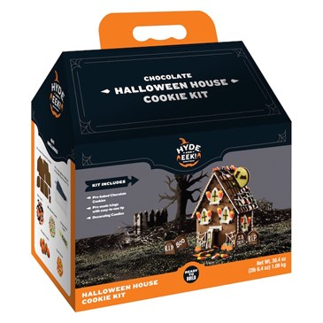 Chocolate Halloween House Cookie Kit, $9.99