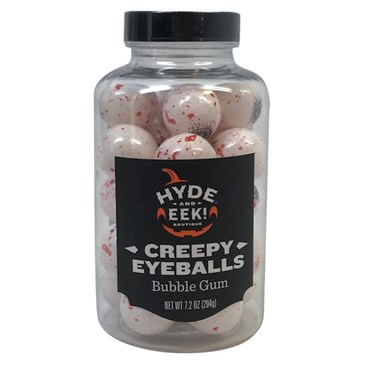 Creepy Eyeball Jar, $2.99
