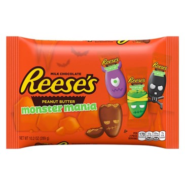 Reese's Peanut Butter Cup Halloween Monsters Mania, $3.19