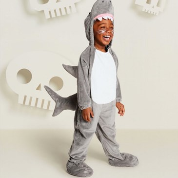 Toddler Plush Shark Costume, $25