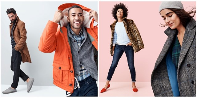 Four models wear styles from Target's owned brand collections