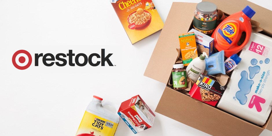 Restock box with Target items