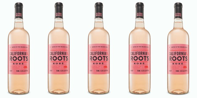 California Roots Rosé bottles