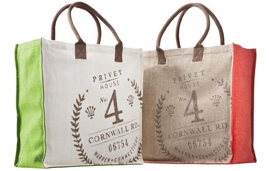 Totes from the Privet House for Target design collaboration