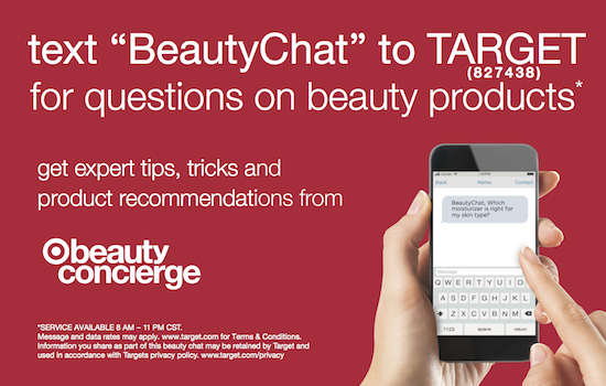 explanation of how to text BeautyChat