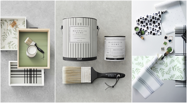 Paint catalog images from the new Magnolia Home by Joanna Gaines® Paint collection
