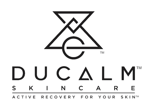 The Ducalm logo with black text on a white background