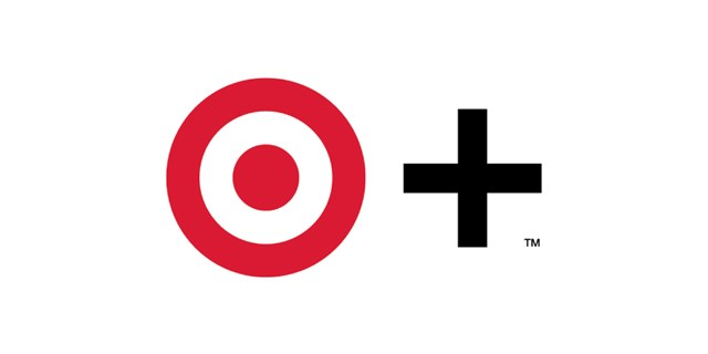 The Target + logo, a red Target bullseye logo next to a black plus sign against a white background