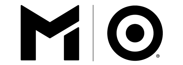 The METRO Target logo, which is a black METRO M next to a black bullseye with a vertical line in between, against a white background