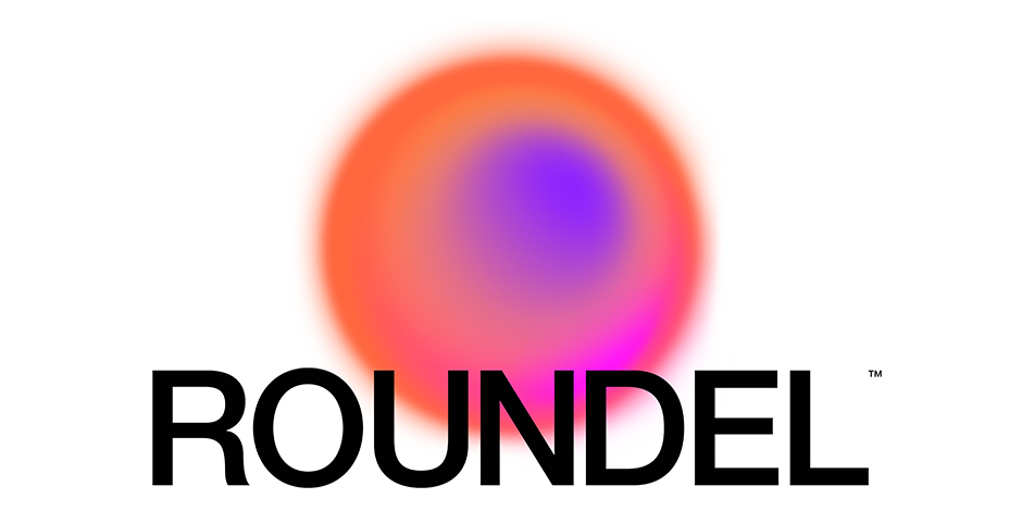 The word Roundel is shown with a colorful circular image