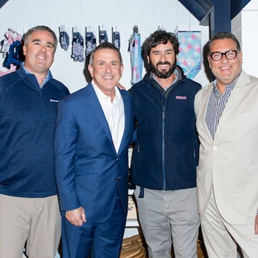 vineyard vines and Target leaders stand together at the event