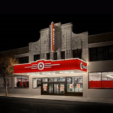The exterior of the Brooklyn Bensonhurst Target store