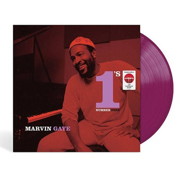 vinyl album picturing Marvin Gaye