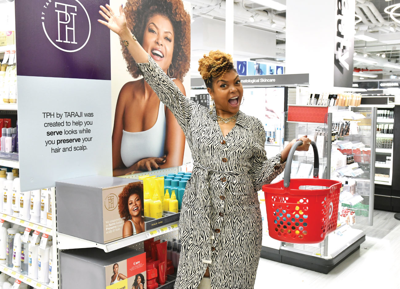 Tresses In Need Of Tlc You Re Gonna Love This New Target Exclusive Haircare Brand From Taraji P Henson