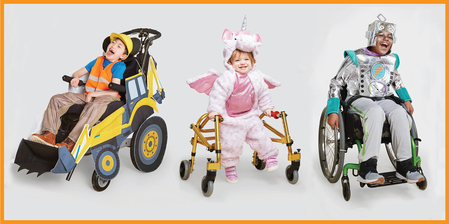 Three children model Target's latest adaptive and sensory-friendly costumes.