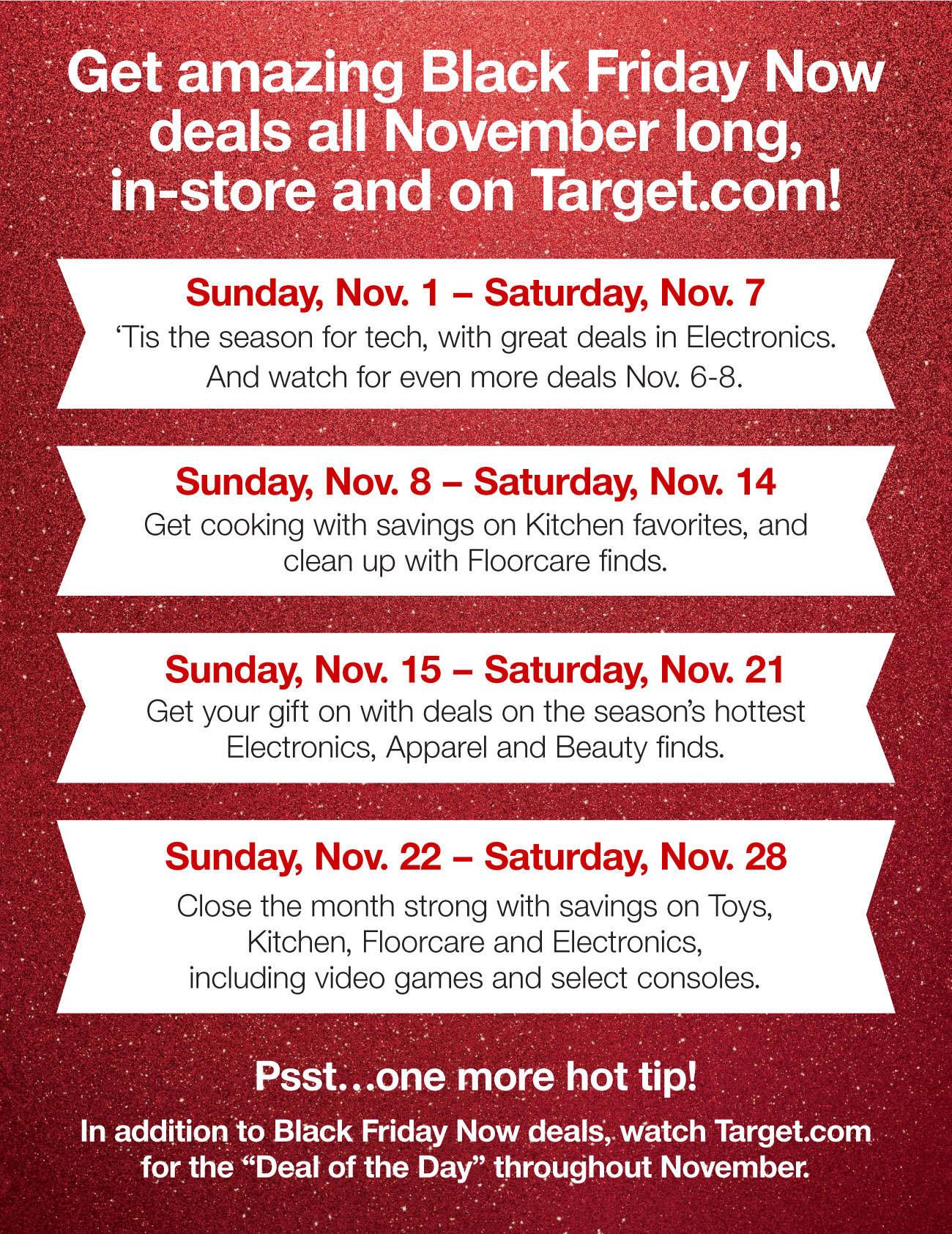 Target Just Revealed The First Of Our Black Friday Now Deals With Lots More Coming All November Long