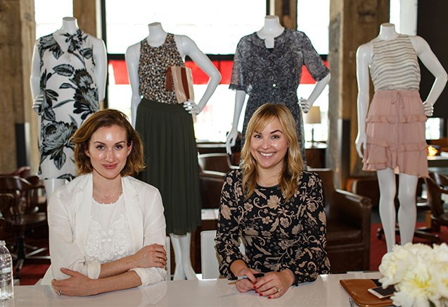 Who What Wear's Katherine Power and Hillary Kerr appear at Target headquarters