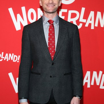 Neil Patrick Harris poses on the red carpet at Target Wonderland