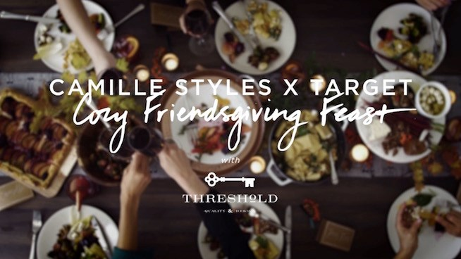 Camille Styles Shows How to Host a Potluck Friendsgiving