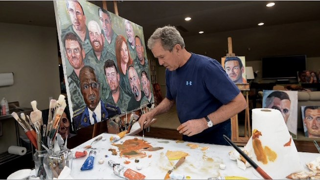 George W. Bush Portraits of Courage Event