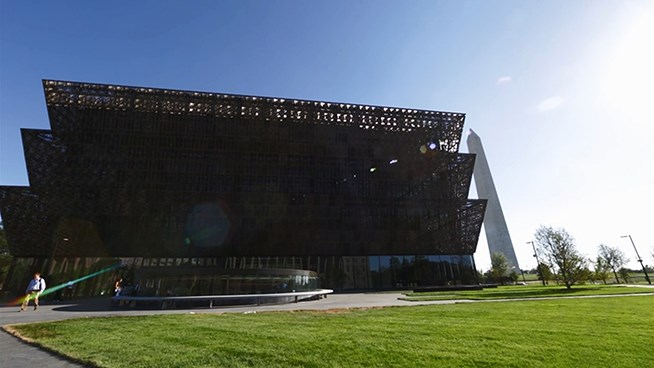 Go inside the National Museum of African American History & Culture
