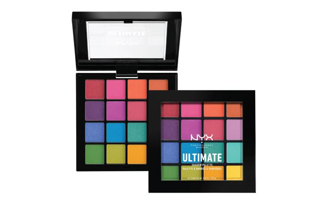 Two eye shadow palettes