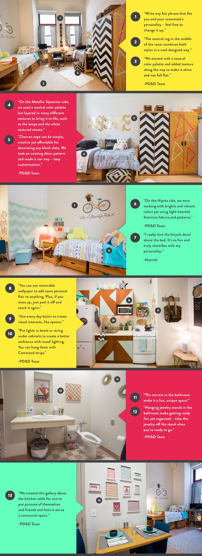 Create Your Own Shoppable Dorm Room Design And Learn More About The Made  For U College Styler! Part 67